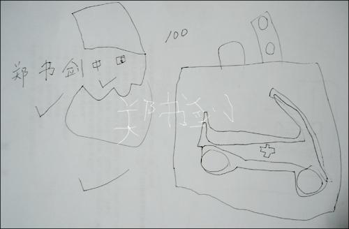 简笔画 手绘 素描 线稿 500_328