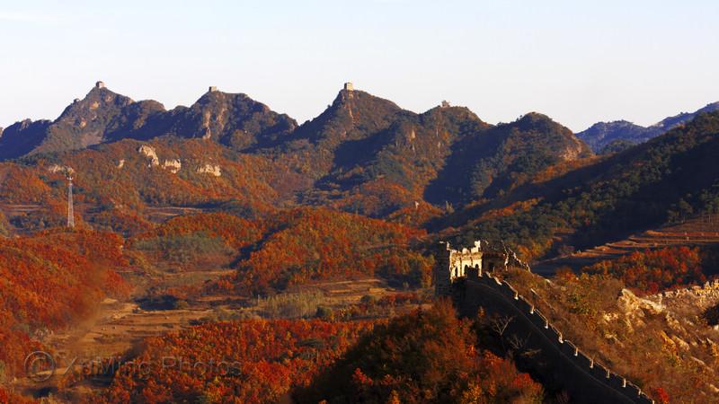 葫芦岛绥中境内的永安堡,加碑岩乡,原生态的大山里,植被覆盖率很