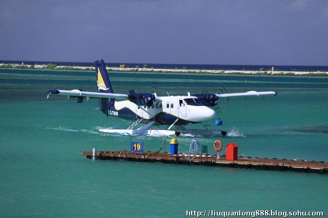 马尔代夫水上飞机 潜艇 首都马累