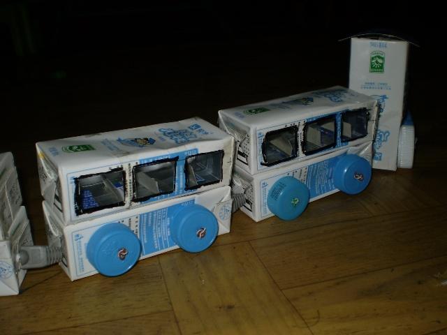 2010手工小制作--未来星号小火车