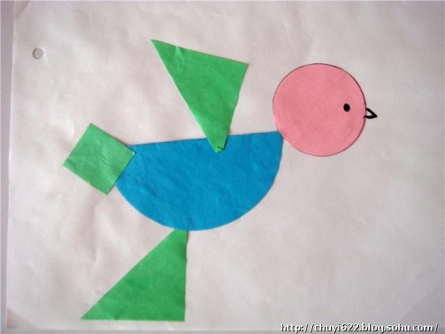 儿幼儿园小班的手工和美术作品 图