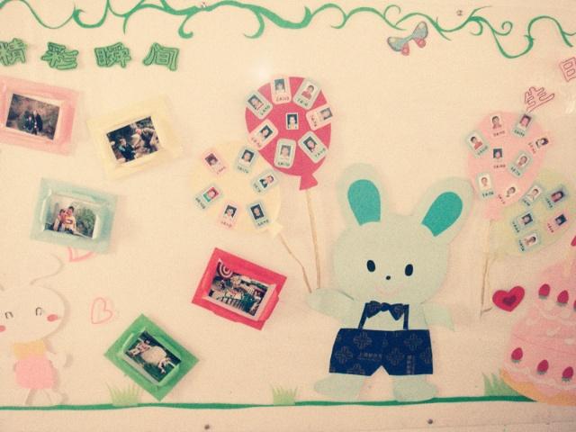 幼儿园班级照片墙设计