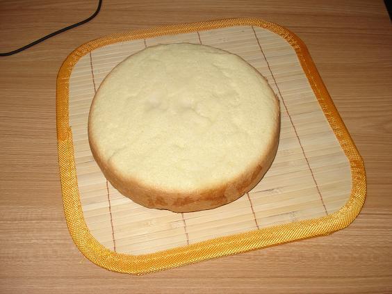 用电压力锅做蛋糕