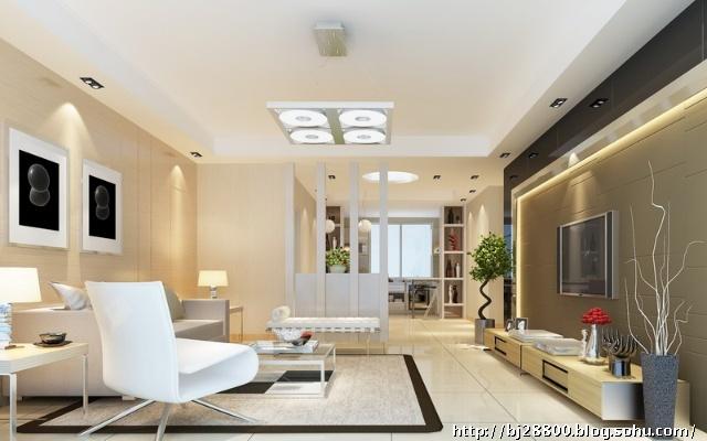 四道口6号院建筑面积:130平工程面积:100平房屋户型:三室两厅装修风格