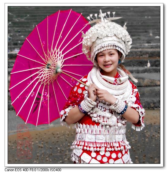 苗族新娘服饰