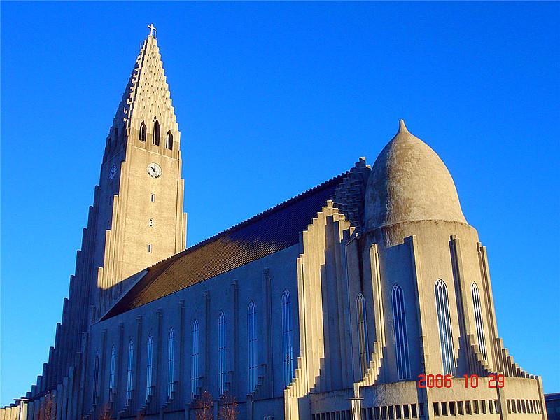 冰岛哈儿格林姆教堂