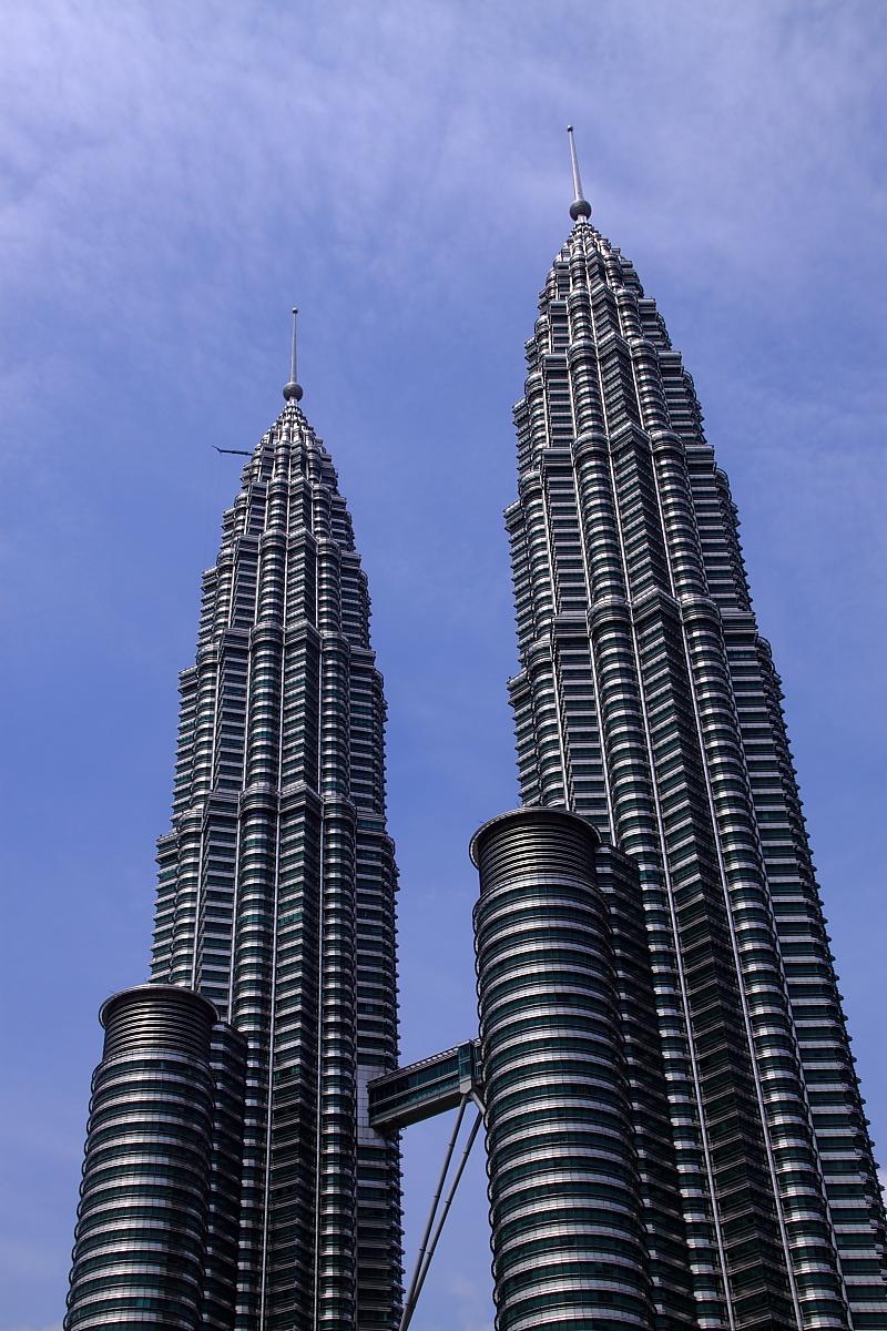 冷峻孤傲的吉隆坡双子塔