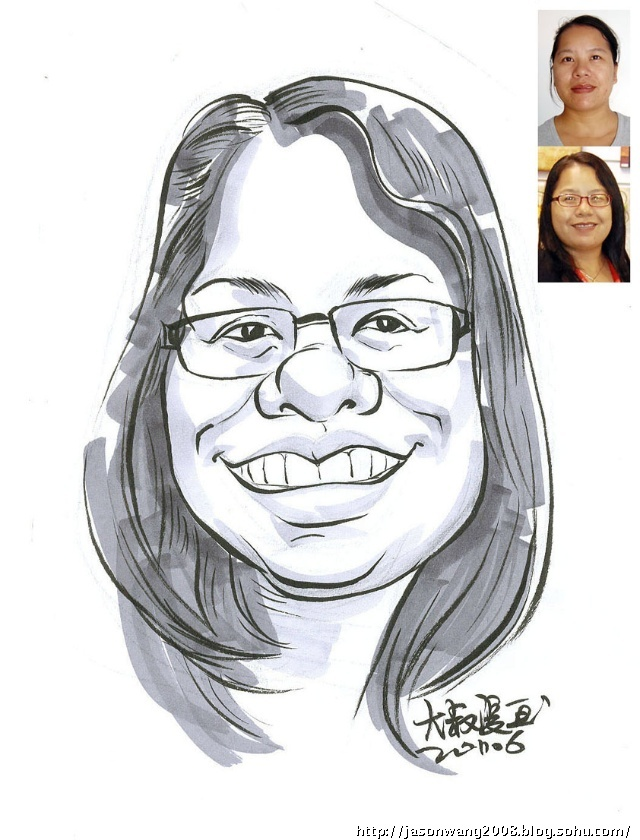 肖像漫画 速写速绘漫画肖像 卡通头像 大叔漫画-夸张搞笑漫画 简笔肖图片
