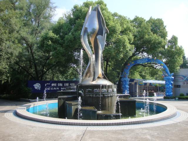 在广州动物园和海洋馆逛了一整天
