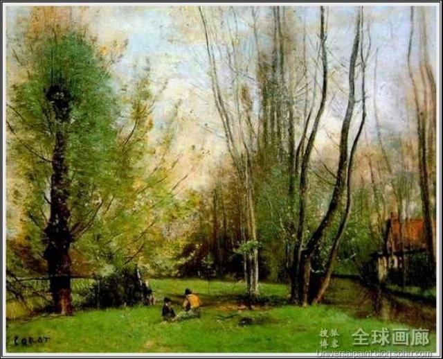 完美地融入了新古典主义风景画的手法
