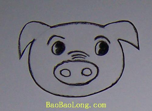猪的头饰手工制作