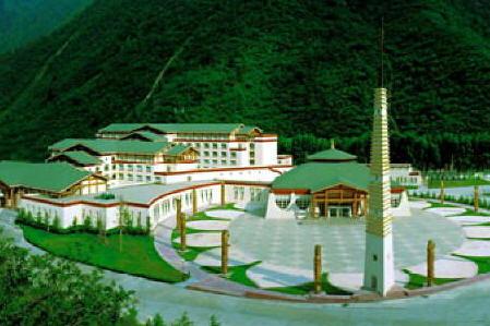 九寨沟喜来登国际大酒店是九寨沟风景区首家国际五星级酒店,地处川西