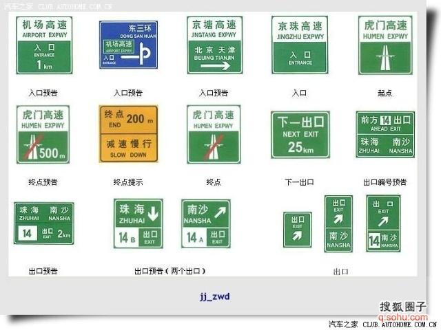 图解交通 标志 标线及路