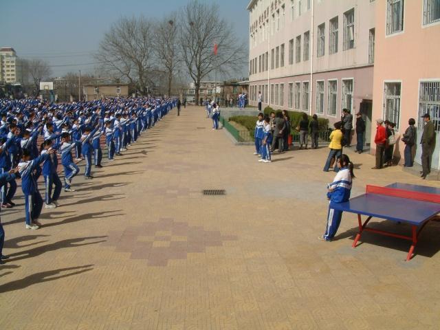 青岛第四十四中学举行素质教育开放日暨家长