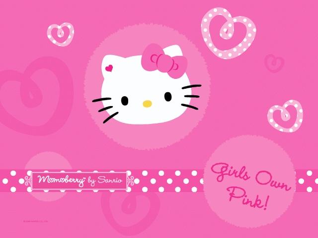 hello kitty桌面壁纸 27p高清图片