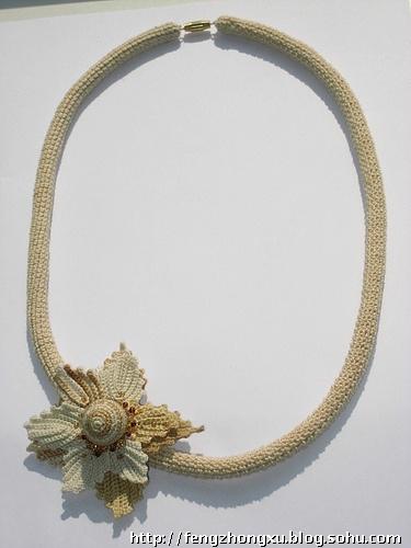 钩 牡丹花 编织教学教程视频>立体花的钩法双层花两层
