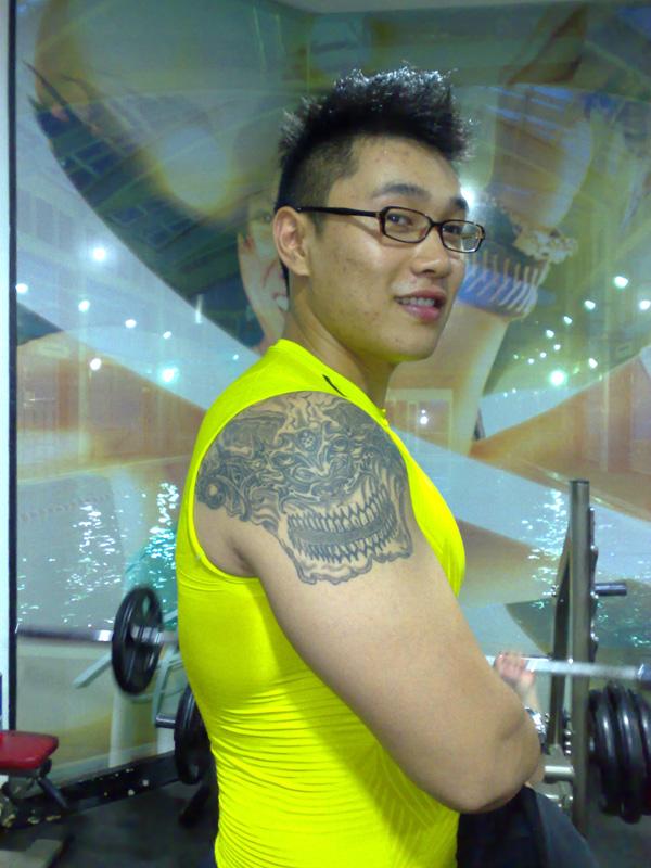 纹身.健身