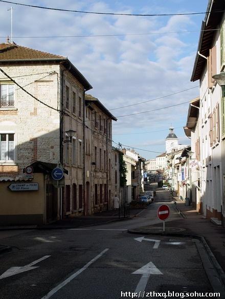 法国建筑手绘彩铅
