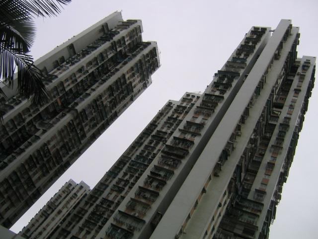 上海叫新村.其实,建筑学上,这叫:蝶式高层!图片