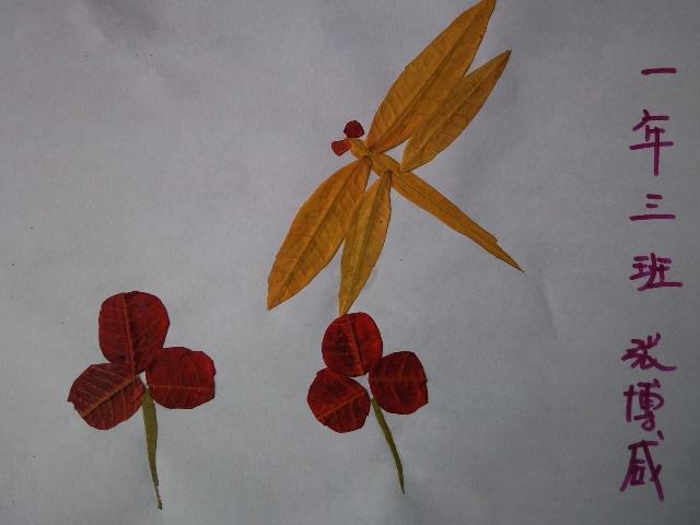 我眼中的秋天画图片大全 我眼中的秋天 优秀绘画展览