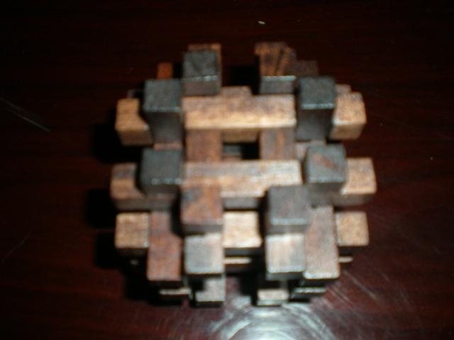 孔明锁33根拼装步骤图视频