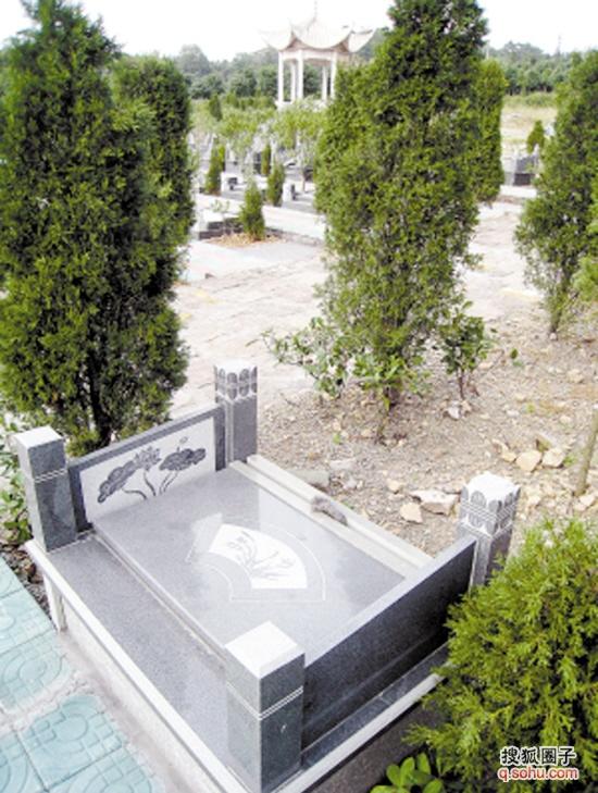 超豪华别墅私人墓地