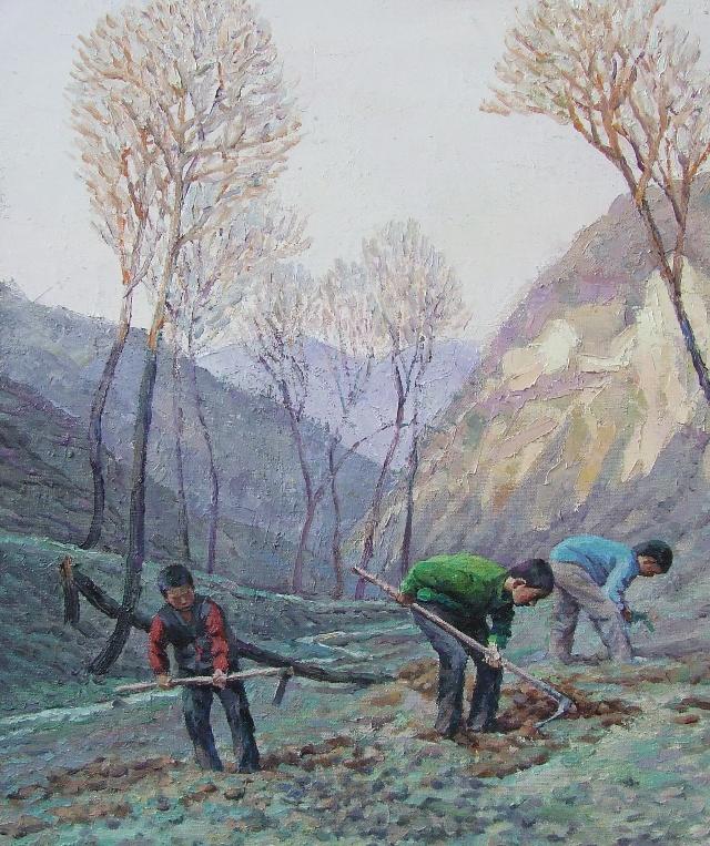 幽谷采药人 - 油画焦点 - 文学艺术 - 搜狐圈子
