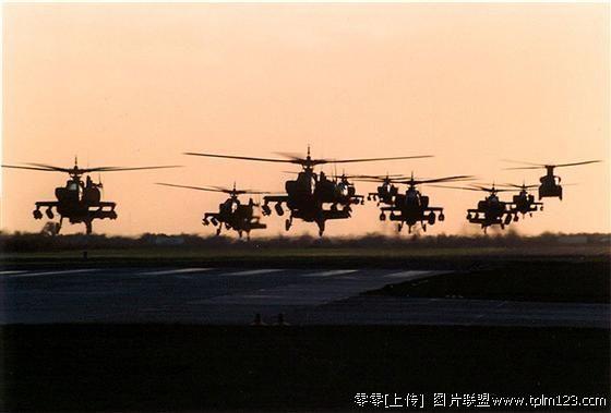 阿帕奇武装直升机--现代战争中的坦克杀手