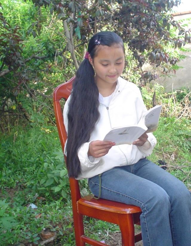 qq头像长发女生八年级