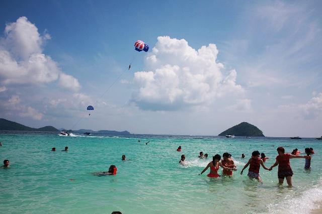 泰国普吉行之三珊瑚岛和翡翠岛