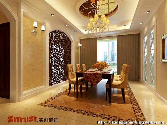 新古典欧式绘制230-刘丹的设计师家园:LD的设遮qt罩打造图片