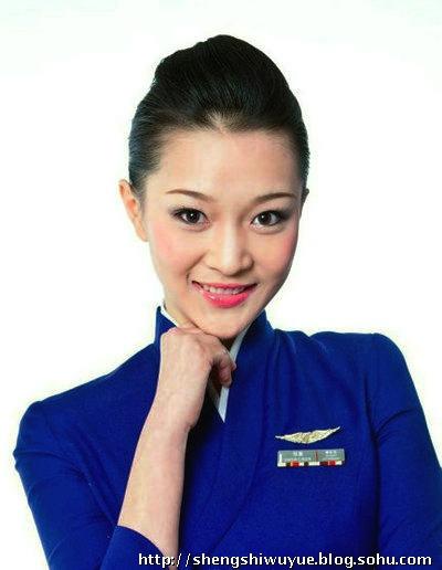中国的十大明星空姐(组图)
