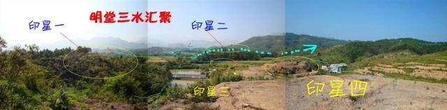 丘陵墓地风水图解