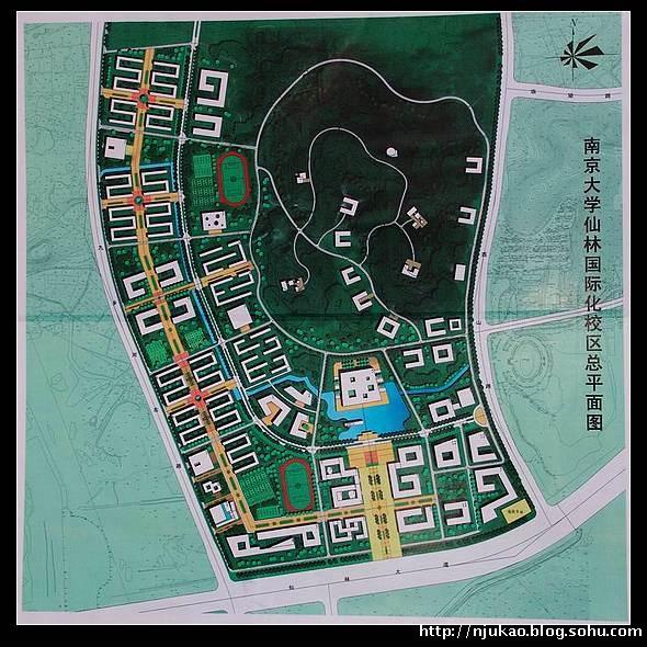 金陵科技学院地形图