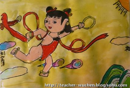 30儿童画初级--油画棒与水彩-大森林_第3页_乐乐简笔画