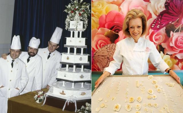 戴安娜王妃结婚蛋糕