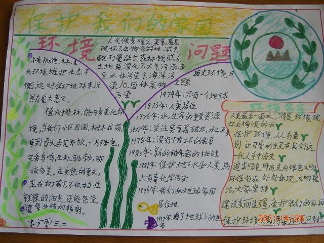 爱护校园卫生的手抄报图片展示_爱护校园卫生的手