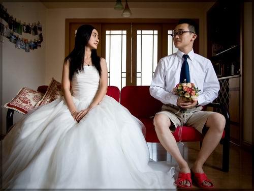 在青岛拍摄diy婚纱照片技巧谈