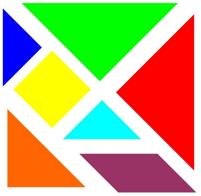 用七巧板拼成的图案图片_用七巧板拼成的图案图片下载