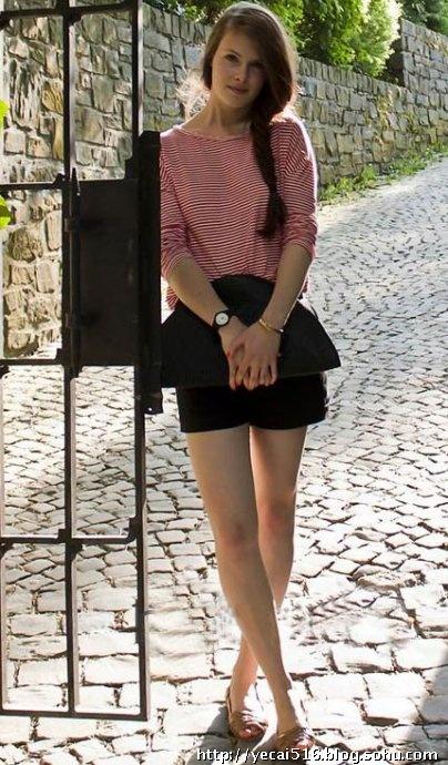 蕾丝短裤的小可爱,皮革短裤的帅气,兽纹短裤的个性…&hellip