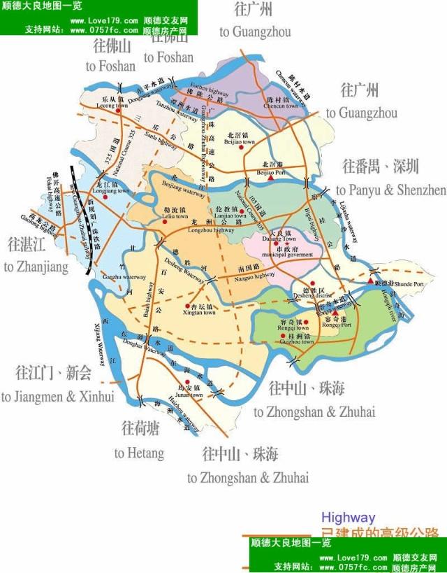 com 顺德区地图网是顺德区政府与广东瑞图万方科技有限公司合作共建