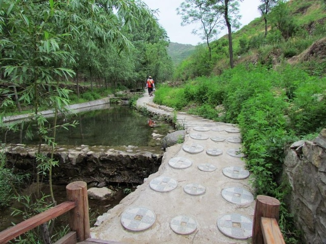 虎山风景区 金水泉
