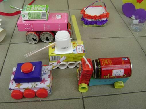 儿童废品做手工步骤