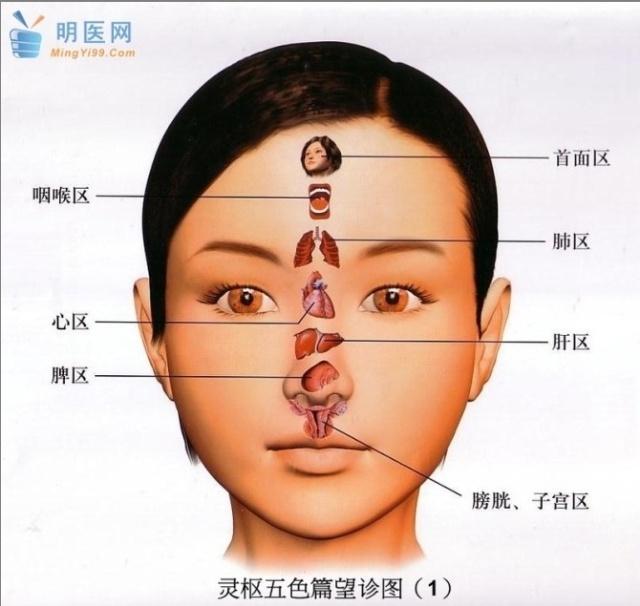 中医面诊 一眼看穿你的健康状况(1)
