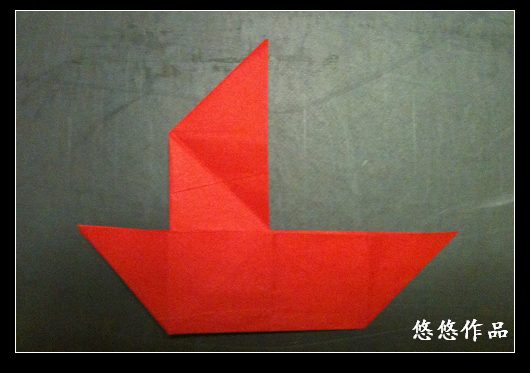 折纸教程可爱的小花猫图解教程