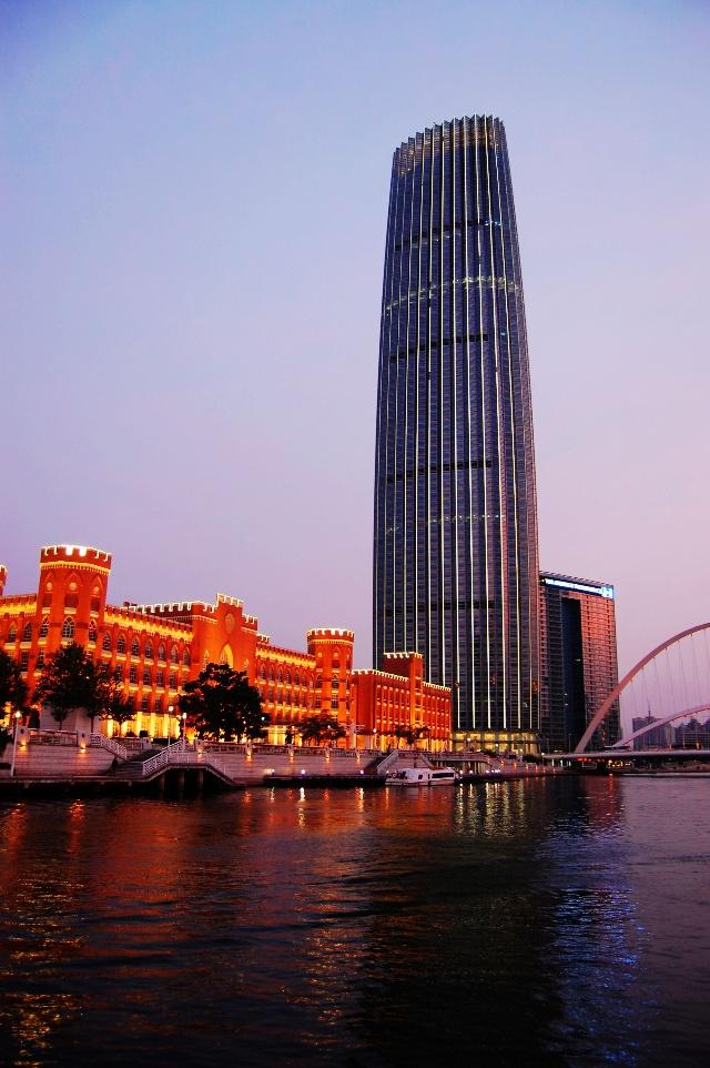 天津的地标性建筑——津塔