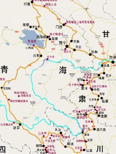 甘南川北青海三