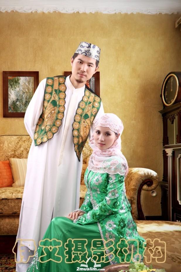 北京伊艾穆斯林婚纱摄影,做回自己,照回穆斯林婚纱照