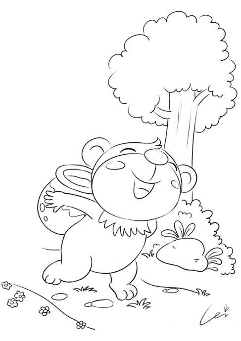 这里是蕾儿的练习线稿,可爱的小家伙们,谢谢你们陪蕾儿度过很多画画