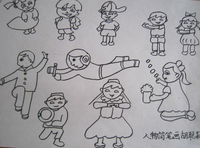 幼儿教师简笔画招聘内容图片展示